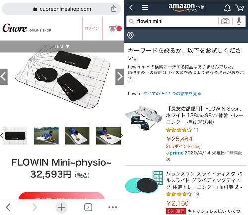 FLOWIN Mini~physio~最安値