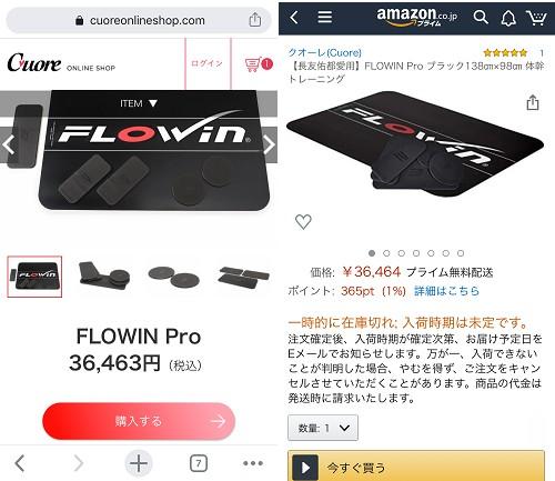 FLOWIN Pro最安値